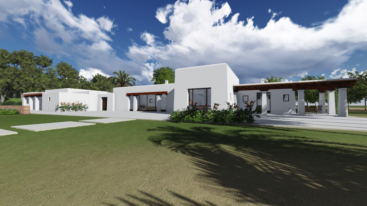 House with project and license for sale in Ibiza